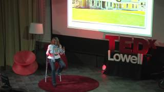 Being a woman in a typically male field: Cindy Stumpo at TEDxLowell