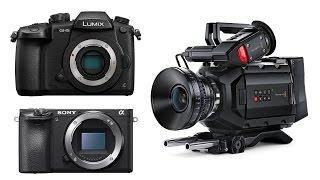 GH5 vs GH4 vs URSA Mini vs Sony - Filmmaking Times Live Ep.10