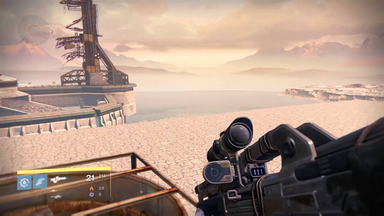 Destiny   Earth: Mothyards / Lunar Complex   Out of Map Glitch