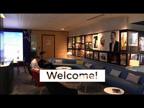 Visit the new Danone's headquarters