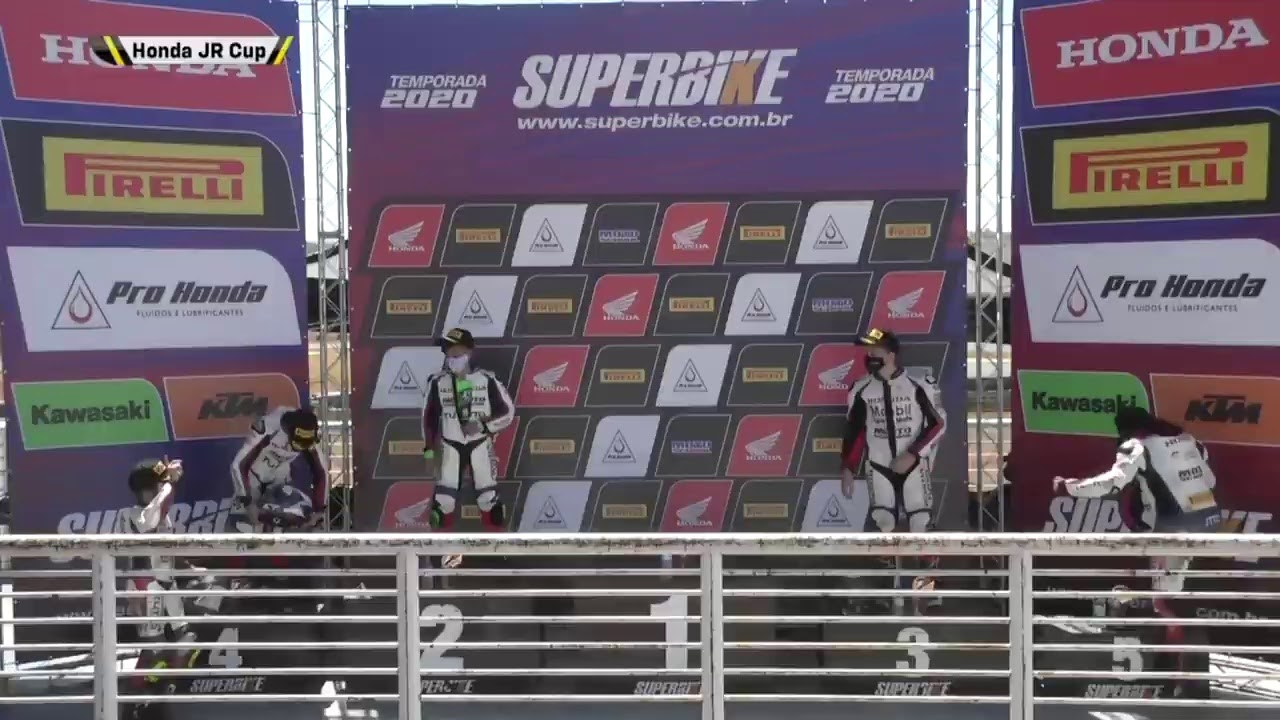 SBK 2020 2ª Etapa Autódromo de Goiânia - GO - Honda Junior Cup - Corrida na íntegra