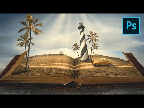 Photoshop Manipulation Tutorial - Story Book Vacation