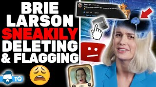 Brie Larson FLAGGING Videos Already? Called Out For Secret Camera Crew & Fake Video!