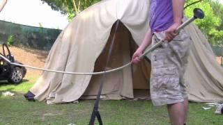 Tent Villanova 400 opzetten