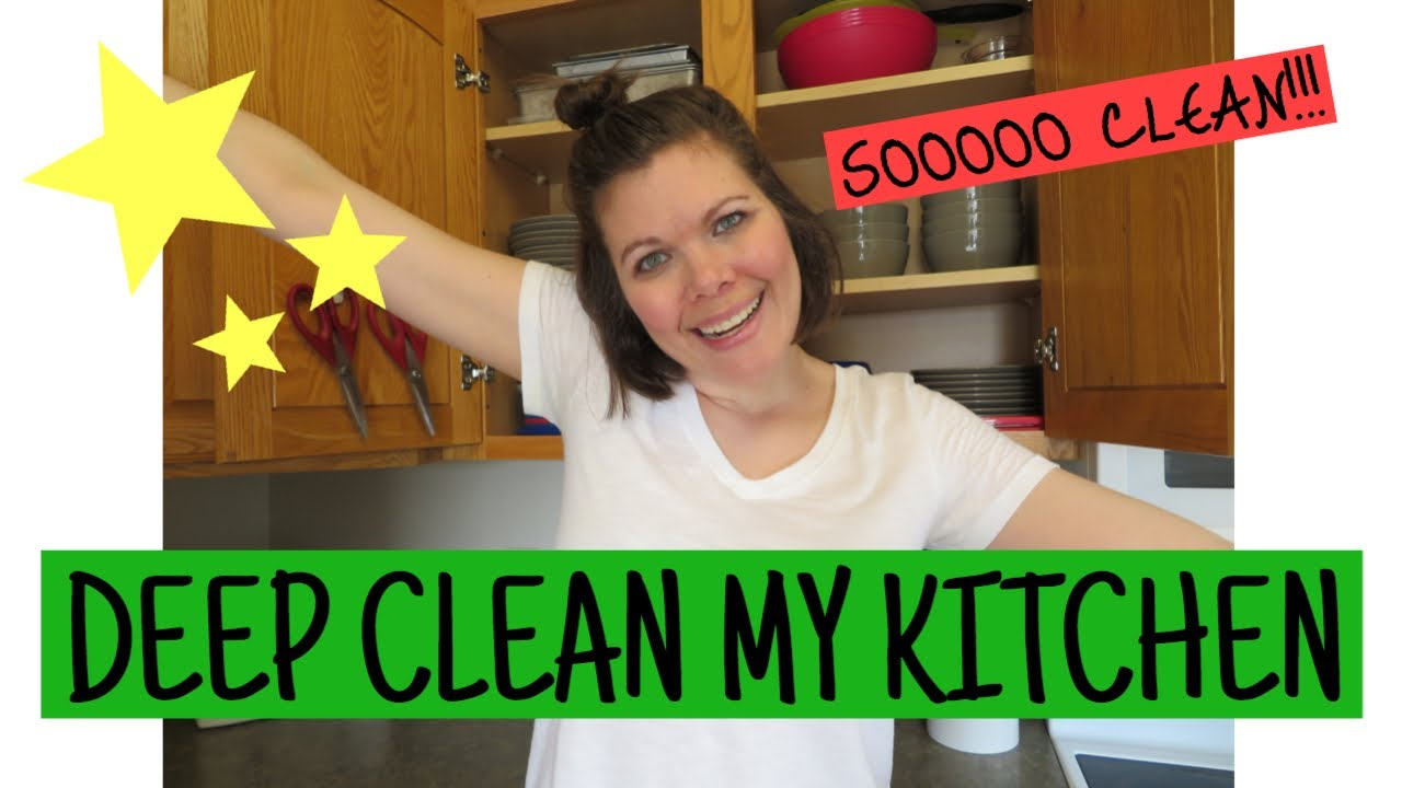 Deep Clean My Kitchen    Spring Clean with Me    Mar 2020