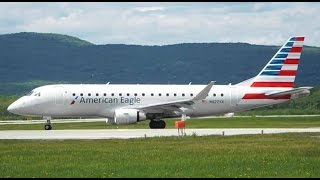 2 Rare ERJ-175 Departures at Quebec City/Jean Lesage Airport (YQB)