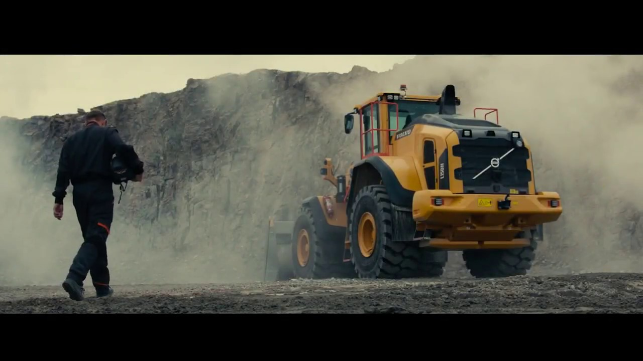Wheel Loader H-Series 2.0 Upgrade: Volvo L150H, L180H and L220H - Ready for action! 720p