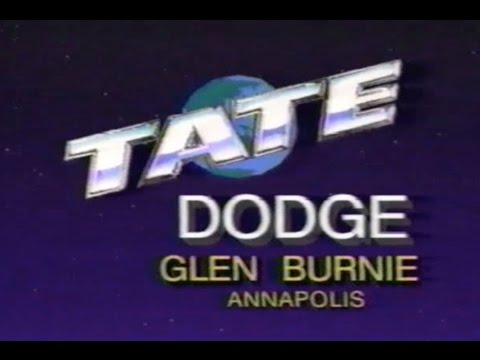 1990 Tate Dodge VHS Commercial