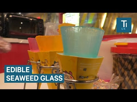 This edible 'glass' could help stop plastic pollution