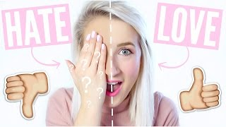 Makeup I HATE vs Makeup I LOVE | Sophie Louise