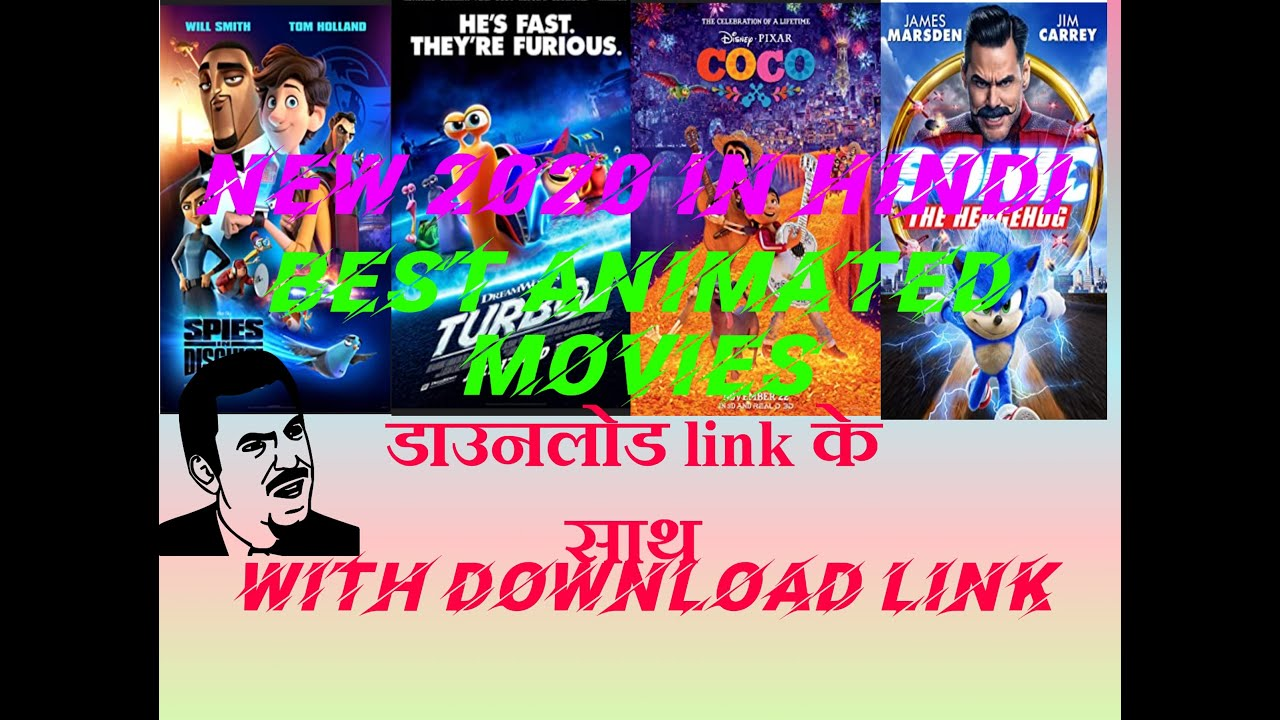 Download Top 10 best Animated Movies in hindi download {With download link}