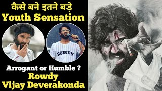 Rowdy Vijay Deverakonda unknown facts interesting facts Biography family details controversy movies