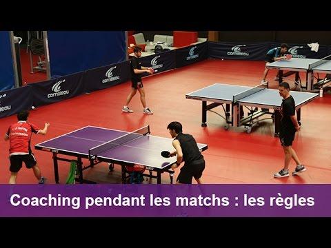 Patrick Chila Tennis De Table Le Coaching Pendant Les Matchs