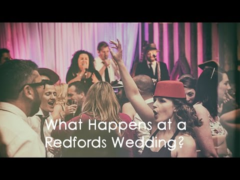 The Redfords -Wedding  Band - Show Reel - What we do!