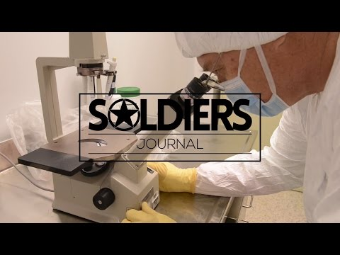 Soldiers and civilians work side-by-side on a Zika vaccine at the Walter Reed Army Institute of Research.  Video by Sgt. Audrey Santana