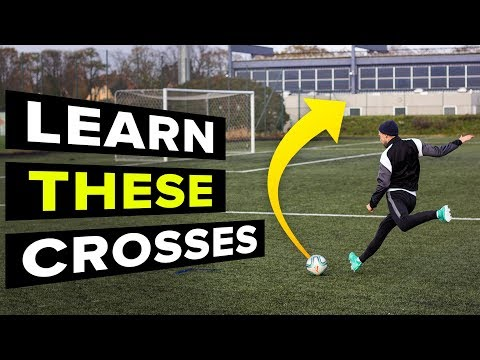 3 CROSSES YOU NEED TO LEARN | Learn Football Skills