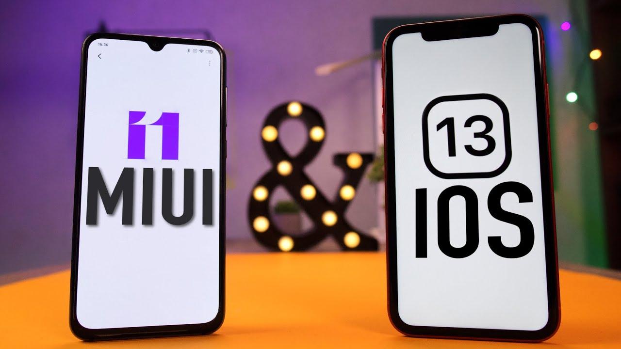 Обзор MIUI 11 и сравнение с IOS 13. В ЧЕМ XIAOMI лучше APPLE?