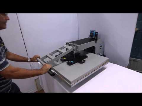 Prensa Térmica Maquinatec 85x65 Modelo Novo - Mercado Livre - YouTube 4ff03a218ac