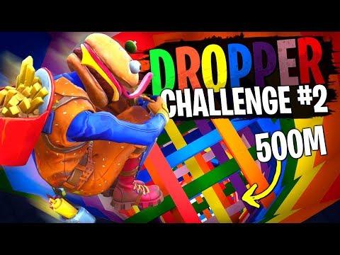 Michou de nouveau le boss du Dropper Challenge #2 sur Fortnite Créatif ?! thumbnail