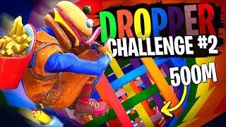 Michou de nouveau le boss du Dropper Challenge #2 sur Fortnite Créatif ?!