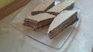 Andrut, Pishinger lub poprostu wafel z czekoladą [KuchniaRenaty]