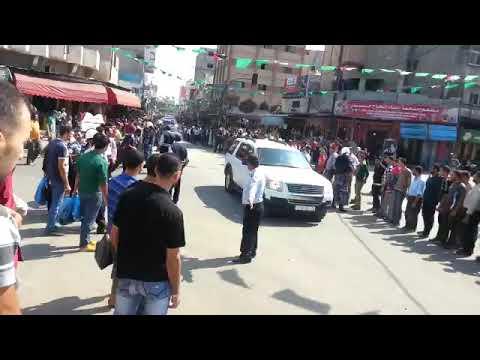 لحظة وصول حكومة التوافق الوطني الي قلب غزة #مباشر