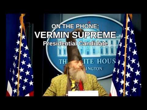 Vermin Supreme On 1420 WBSM
