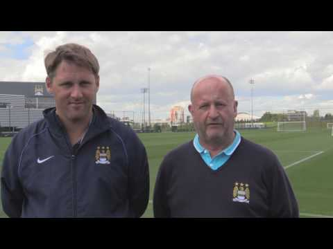 Manchester City FC groundstaff talk about the move to the CFA - IOG SALTEX Learning Live