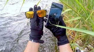 River Treasure: FOUND $1,800 WORTH OF RIVER TREASURE!!! 2 iPhones, 2 Oakleys, 3 Knives and more!!!
