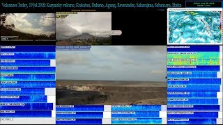 DEC🔴Live Earthquake and Volcano coverage: Agung, Kilauea, Popocatepetl