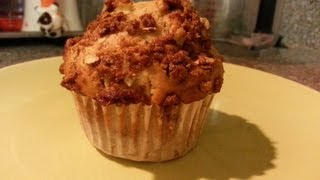 How To Make Apple Oatmeal Muffins With Struesel Topping