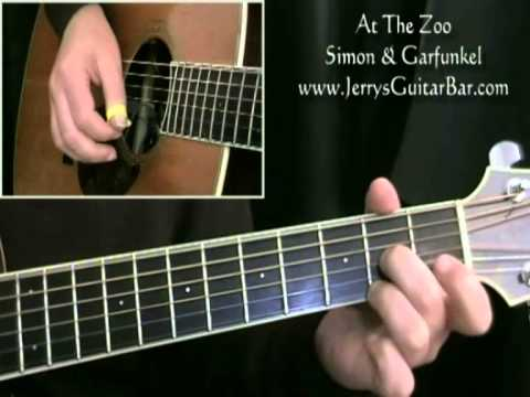 How To Play Simon & Garfunkel At The Zoo (1st section only)