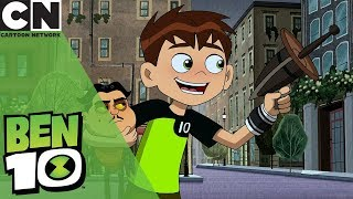 Ben 10 | Ben Shrinks Outside Big Ben | Cartoon Network UK