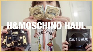 [ENG] H&MOSCHINO DISNEY HAUL + TRY ON H&M feat. MOSCHINO Preview Access Event | Fayrama