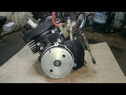 Мини-мокик ЗиД-36 Птаха. Ремонт двигателя. Часть 2