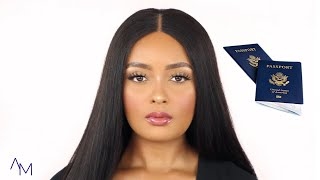 Doing My Makeup For My Passport Photo + Taking It Myself!