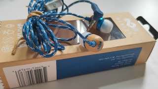 House of Marley Smile Jamaica Wooden Budget Earphones Review -In Ear Headphones with Mic