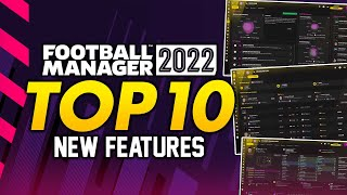 Football Manager 2022: TΟP 10 New Features | FM22 Alpha Gameplay