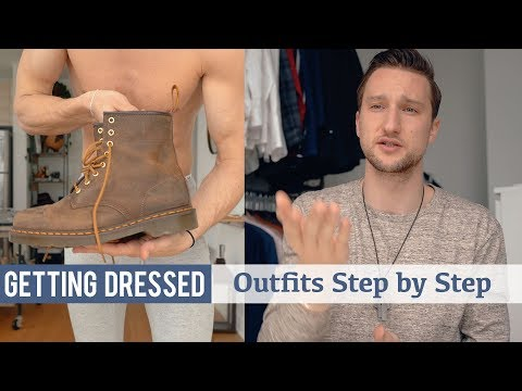 How I Styled These Dr. Martens 1460 Boots | Getting Dressed Step by Step #24