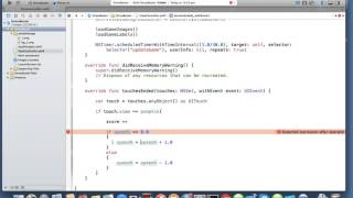 Gambar cover iOS Swift Game Touch Interaction | Nimap Infotech - Tutorial 27
