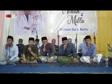 FAROIDHUL BAHIYYAH ( Hama Qolbi ) - Lailatus Sholawat Resepsi Pernikahan Alhan ( Alkaromah ) & Milla