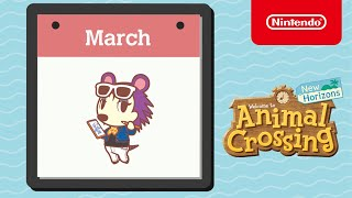 Animal Crossing: New Horizons - Exploring March