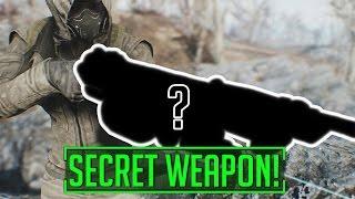 Fallout 4 - Contraptions Workshop HAS A SECRET WEAPON!