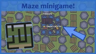 Moomoo.io - NEW MAZE MINIGAME! Find the treasure challenge!