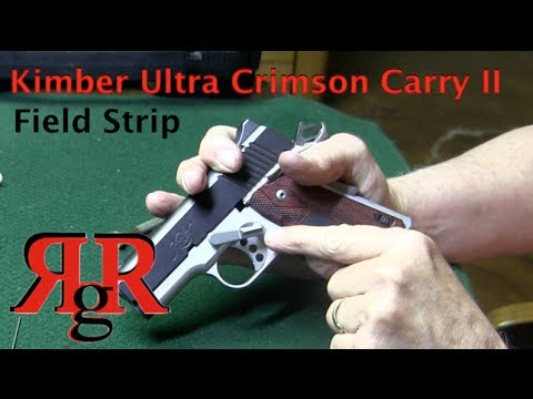 Kimber Ultra Crimson Carry II Field Strip