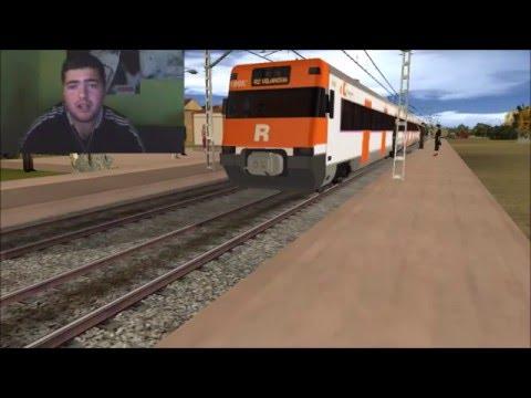 Trainz con los repintados! es un aficionado esperando trenes para echarles fotos