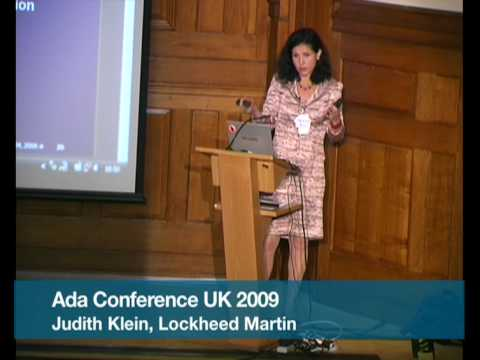 Pt.3 Ada Programming Language Use in Lockheed Martin (Judith Klein)