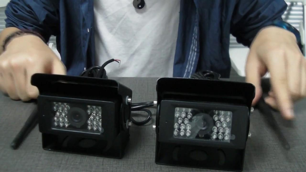Podofo Digital Wireless Back up Camera System Easy set up tutorial on