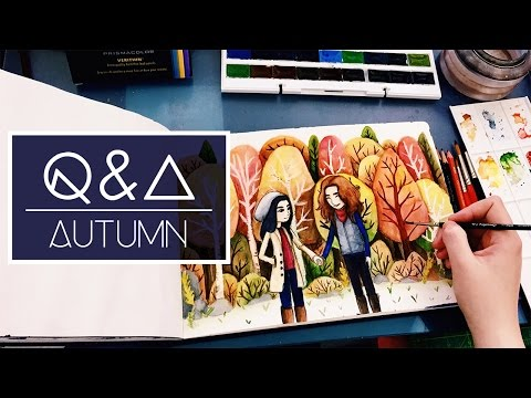 Finding Your Style, Painting Inspiration and More | Q&A #1