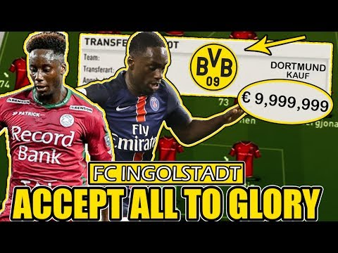FIFA 17: INGOLSTADT ACCEPT ALL TO GLORY XXL 🔥 | DIE UNMÖGLICHE CHALLENGE !! 😱 | KARRIERE DEUTSCH